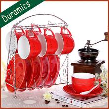 fine porcelain tea set,ceramic tea cup and saucer
