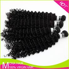 Dark black coarse indian curly hair