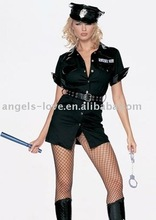 Party Carnival adult sexy police women sex hot costume