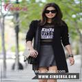 Llano personalizado de impresión t camisa de ventas al por mayor fábrica de coreano mujer t- shirt