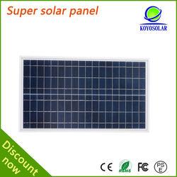 Poly 190w good quality high watt solar panels