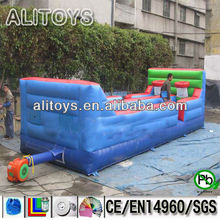 Funny sprot game---inflatable team basketball games