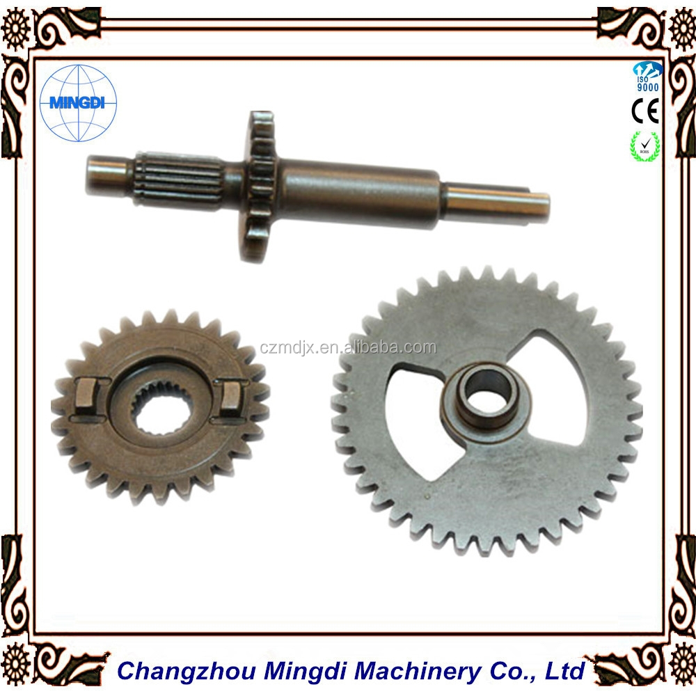 Gears Used In Toys : Tractor toy car used crown wheel pinion gear