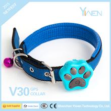 Yiwen V30 dog/cat GPS tracker with long battery life
