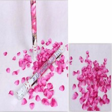 rose red petals party popper