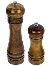 Supply manual wood salt pepper grinder in high quality