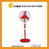 "wholesale 16"" 12VDC Chargeable Solar Fan with 10W high efficiency solar panel"