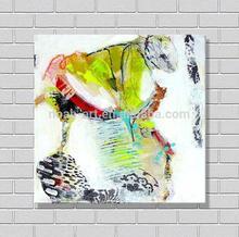 De gran tamaño lona del arte abstracto pintura galería