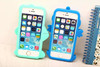 3D popular silicone rubber mobile phone case/cover, free samples available
