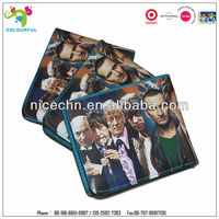2015 new design product slim men genuine leather wallet