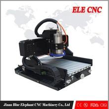 ELE 3040 steel structure small cnc router sale/cnc metal engraving machine with CE,CIQ,FDA certifcation