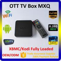 China Factory MXQ XBMC Set Top Box, Best IPTV Set Top Box, Cable TV Set Top Box