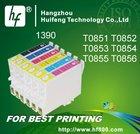 Cartucho de tinta compatíveis para epson photo 1390, cartucho de tinta número: t0851 - - t0855