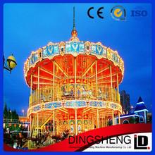 New arrived amusement park rides carousel horse