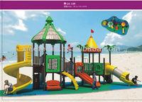 outdoor kids play climb equipment slide