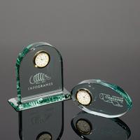 Exquisite Optical K9 Crystal Clock Table Clock Desk Crystal Clock