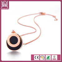 simple design necklace for girls fashion simple pendant necklace