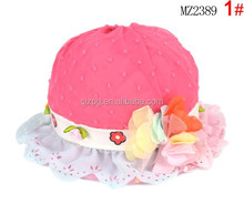 wholesale summer beach children/baby cute straw hat