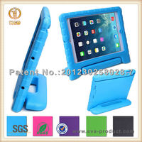 Kid proof thick foam handle stand cover case for ipad air