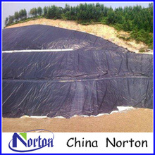 waterproofing geomembrane hdpe for landfill site black geo-membrane pond liner NTGM005