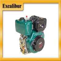 protable electric starter slow speed diesel engine S186F