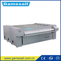 industrial/commercial laundry ghd flat ironer used for hotel/hospital/factory/school