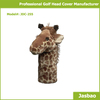 Manufacture Unique Animal Of Giraffe Golf Head Cover