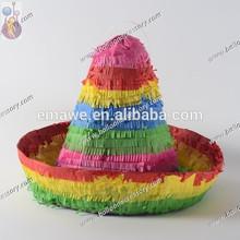 Paja de sombrero piñata, piñata de adultos, piñata de juguete, piñata de cumpleaños, diseños de piñata, fiesta piñata