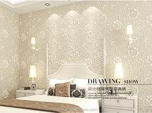 2015 hot sale 3d wallpaper for hotel decoration, PVC wallpaper