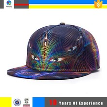 customed snapback caps/5 panel snapback cap and hat