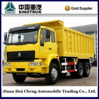 Unique and specific Sinotruk howo 10 wheeler dumper truck used