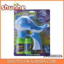 Best selling dophin bubble gun flashing bubble gun musical bubble gun toys