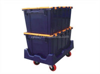 3 stackable moving bins for moving company