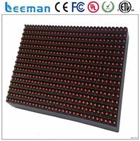Free shipping leeman P10 led module electronic scrolling message display board hot sales new products