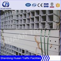 galvanized steel square pipe for construction of bridge