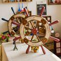 mediterrâneo acessórios home enfeites para casa feita de madeira velha anchor retro direto da fábrica c5208