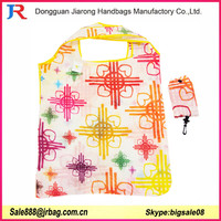 Polyester Fold Recycle folded shopping bags