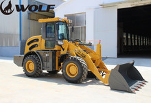 ZL20 alibaba popular 2ton front and back loader with 3 point hitch attachments