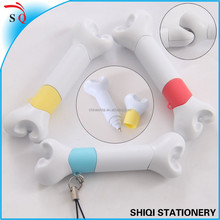 bone shaped ball pen