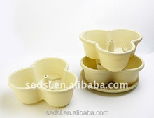 Factory price Home and garden decoration plastic haing flower pots