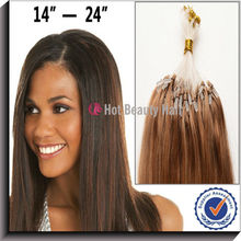 Best Remy Hair Brazilian Micro Bead Human Hair Extensions