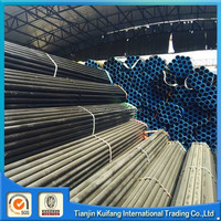 ASTM A106 Gr.B 1 inch seamless steel pipe with black painting