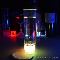 Colorful LED Flashing Glass For Bar
