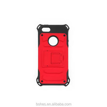 New design 3 in 1 robot kickstand case for iphone 6