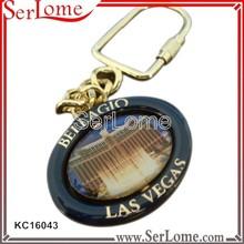 3D Metal Basket keychain reels for export