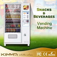 Hot Sale, Snacks and Beverages Vending Machine, KVM-G654M12