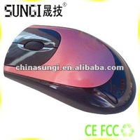 Fashionable Trackball 3D PC Wired Optical Mouse