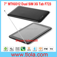 7 inch Tablet PC WIFI GPS TV Mobile Phone with 1024*600 HD Capacitive Touch Screen F723