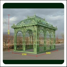 High Quality Outdoor Decoration Wrought Iron Gazebos