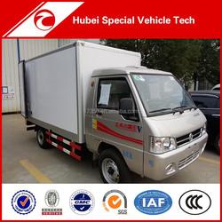 Dongfeng 4x2 Euro IV Refrigerator truck freezer van